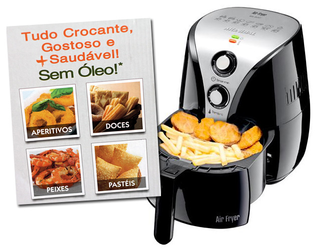 Lista de presentes original: Air Fryer Mondial
