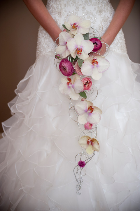 Bouquet de Orquídea - Foto do ite Wedding Journal on line (clique aqui)