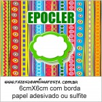 epocler Molde Colorido Kit Toilet