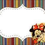 covite Mickey e Minnie Noivado