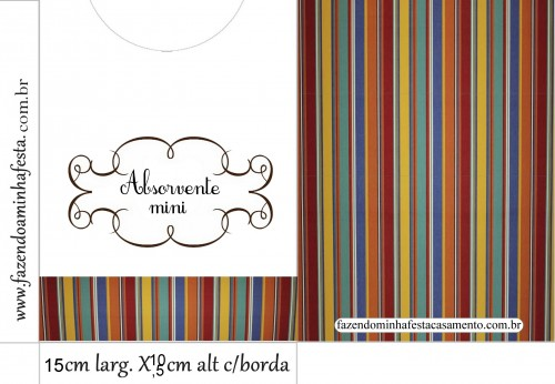 Envelope Absorvente Mini
