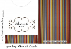 envelope absorvente