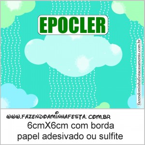 epocler kit toilet verde e azul
